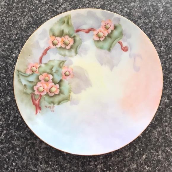 Vintage Bavarian Plate